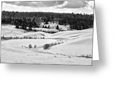 Frozen Creek Greeting Card
