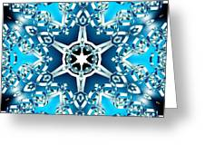 Frozen Divinity Greeting Card