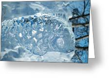 Frozen Fish Of The Northern Forests Greeting Card