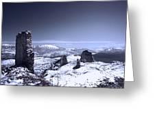 Frozen Landscape Greeting Card