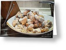 Frozen Mussels Greeting Card