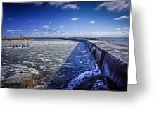 Frozen Passage 1 Greeting Card