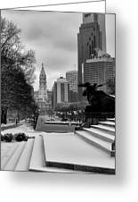 Frozen Philadelphia Greeting Card