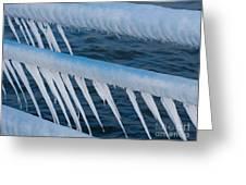 Frozen Stiff Greeting Card