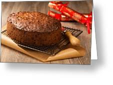 Fruit Cake Greeting Card