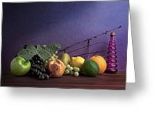 Fruit In Still Life Greeting Card