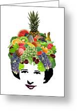 Fruit Lady Greeting Card