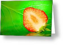Fruit Of Rainy Summer Greeting Card