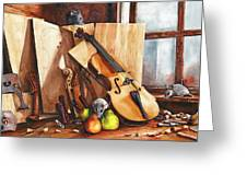 Fruit Of The Wood Greeting Card