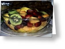 Fruit Salad Greeting Card