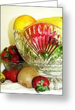 Fruit Still Life 3 Greeting Card