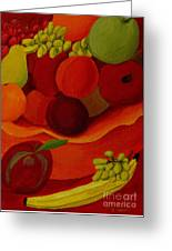 Fruit-still Life Greeting Card