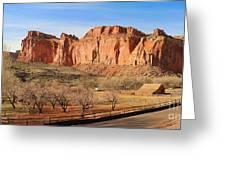 Fruita Utah Panorama 002 Greeting Card