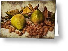 Autumn Still Life Greeting Card