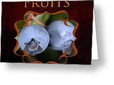 Fruits Gallery Greeting Card