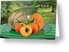 Fruits-garden Greeting Card