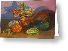 Fruits Of Fall Greeting Card
