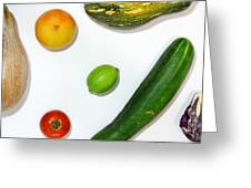 Fruits Project Greeting Card