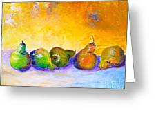 Fruity Pearfection Greeting Card