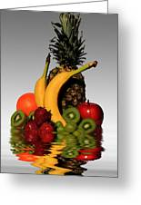 Fruity Reflections - Light Greeting Card