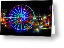 Florida State Fair Pano Work E Greeting Card