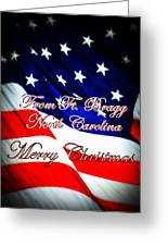 Ft. Bragg - Christmas Greeting Card
