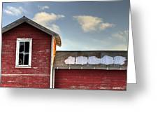 Ft Collins Barn 13493 Greeting Card by Jerry Sodorff
