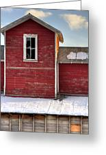 Ft Collins Barn 13496 Greeting Card by Jerry Sodorff