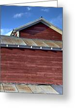 Ft Collins Barn 13550 Greeting Card