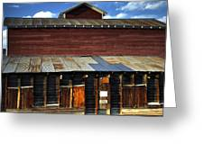 Ft Collins Barn 13553 Greeting Card