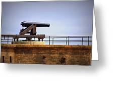 Ft Gaines - Cannon Greeting Card