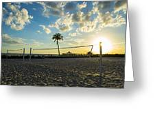 Ft. Myers Volleyball Greeting Card
