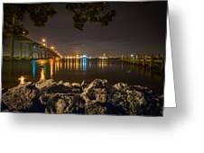 Ft. Pierce Bridge Greeting Card