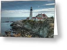 Ft. Williams Lighthouse Greeting Card
