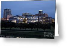 Ft. Worth Texas Skyline Greeting Card