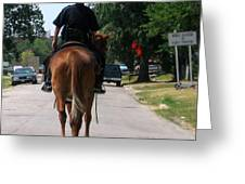 Ft Worth Texas Police Greeting Card