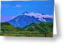 Fuego Volcano Guatamala Greeting Card