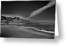 Fuengirola Beach Greeting Card
