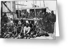 Fugitive Slaves, 1862 Greeting Card