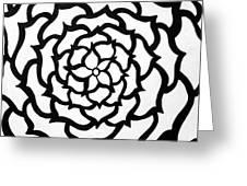 Full Bloom I I Greeting Card