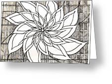 Full Bloom Iv  Greeting Card