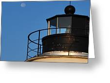 Full Moon At Piney Point Greeting Card
