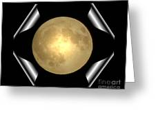 Full Moon Unfolding Greeting Card