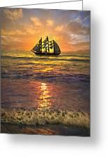 Full Sail Greeting Card