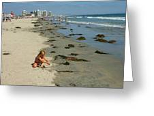 Fun At The Beach  Greeting Card