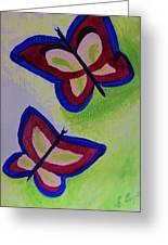 Fun Butterflies Greeting Card