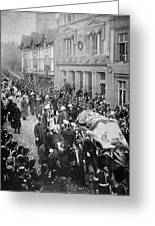 Funeral Of Queen Victoria Greeting Card