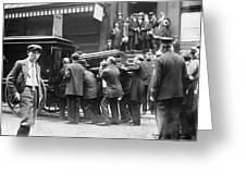 Funeral Rosenthal, 1912 Greeting Card