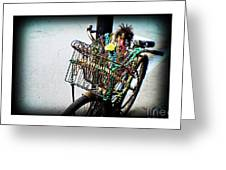 Funky Ride Greeting Card