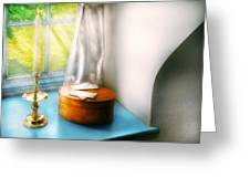 Furniture - Lamp - In The Window  Greeting Card